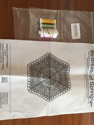 Breath Of Spring Bobbin Lace Making Pattern And Threads
