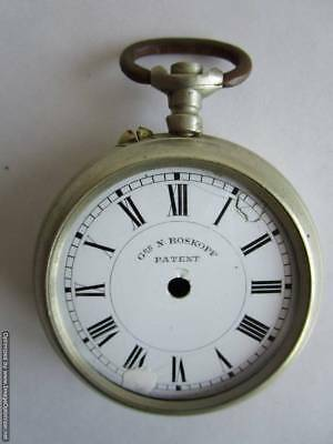 "Old pocket watch ""Gre N. ROSKOPF PATENT"" - for repair or parts !!!"