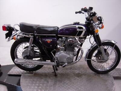 1973 Honda CB350G Unregistered US Import Barn Find Classic Restoration Project