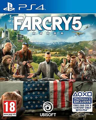 Sony PlayStation 4 Far Cry 5 PS4 Brand New Sealed Official