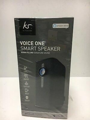Kitsound Voice One with Alexa Built-in and Spotify (56111/LK)