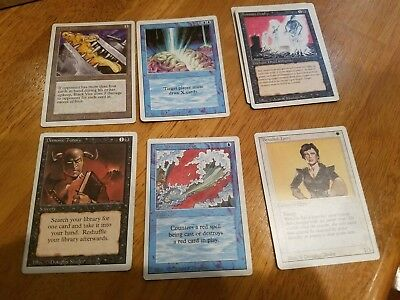 magic the gathering lot Revised/Ice Age/Chronicles/Fallen Empires/4th Edition