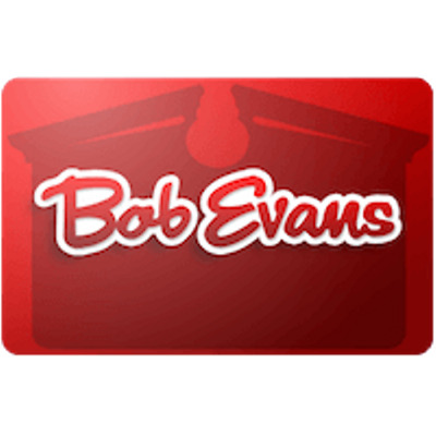 Bob Evans Gift Card $30 Value, Only $29.00! Free Shipping!
