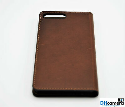 the best attitude 4cae0 ce454 PLATINUM GENUINE LEATHER Folio Wallet case for iPhone 7 Plus / 8 Plus Brown