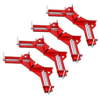 4 Woodwork Picture Frame Holder Right Angle Corner Mitre Clamp Vice