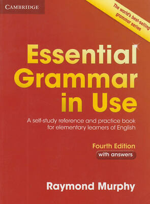 Essential Grammar in Use with answers and CD 4th dition by Murphy Raymond