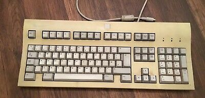 VINTAGE PC KEYBOARD Zenith Data Systems  163-0093-2b