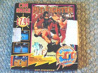 AMIGA PITFIGHTER PIT-FIGHTER Commodore Amiga Computer 1991 Fighting Tengen