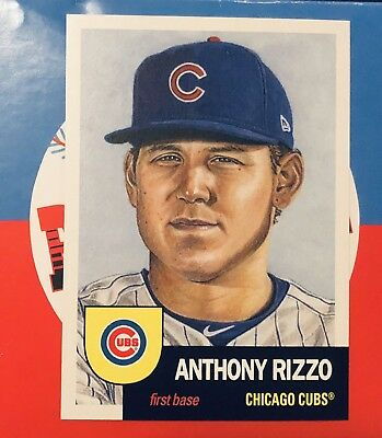 2018 Topps Living Set ANTHONY RIZZO #67 Chicago Cubs 1953 Retro