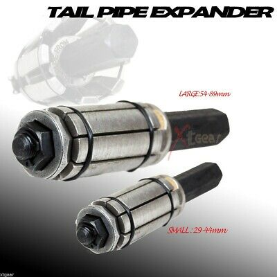 2Pc Exhaust Mufflers Tail Pipe Expander Large And Small