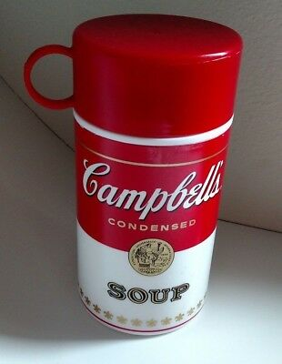 Campbell's condensed soup thermos