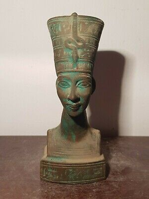 Rare Antique Ancient Egyptian Statue Beautifull Queen Nefertiti 1351–1334 BC