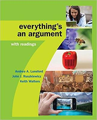 Everything's an Argument with Readings, 7th Edition (EB00K PDF)