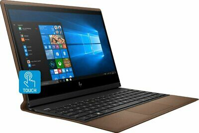 """NEW HP - Spectre Folio Leather 2-in-1 13.3"""" Touch-Screen i7 8GB/256GB SSD Brown"""