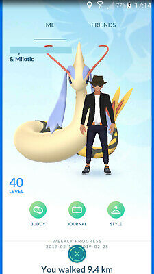 Pokemon Go Level 40 Team Mystic Account 36 Maxed Pokemons All Regionals and More