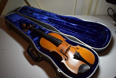 Vintage Joseph Guarnerius fecit Cremonae Anno 1736 VIOLIN Needs Restoration
