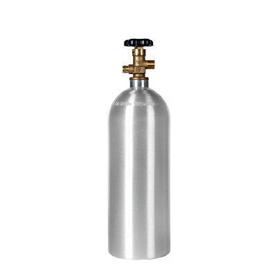 FULL - New 5 lb. Aluminum CO2 Cylinder - CGA320 Valve - Free Shipping