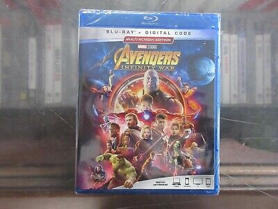 BRAND NEW AVENGERS: INFINITY WAR [Blu-Ray + Digital]