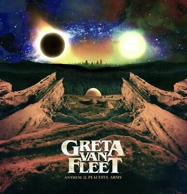 Greta Van Fleet - Anthem Of The Peaceful Army Brand New Cd
