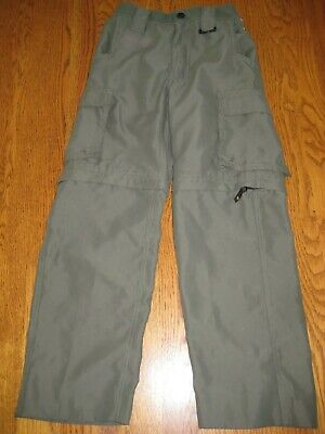 Boy Scouts America Green Convertible Switchback Uniform Pant Small Youth PERFECT