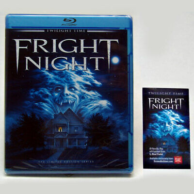 ULTRA-RARE Fright Night Twilight Time Limited Edition w/ Anniversary Magnet OOP