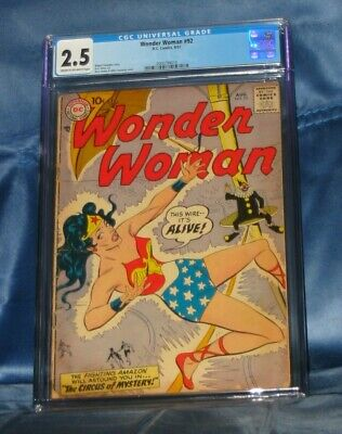 Wonder Woman #92 Cgc 2.5 Dc Comics 1957 Ross Andru & Mike Esposito Art