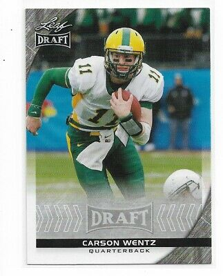 2016 Leaf Draft Carson Wentz Exclusive Edition Rookie