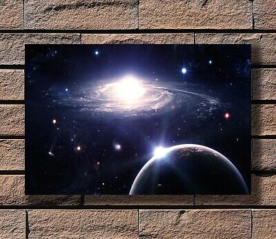 Art Poster 24x36 27x40 - Galaxy Outer Space Nasa Universe T-789