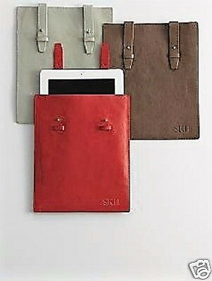 3e6e025517c Genuine Leather Tablet Ipad Protective Sleeve Bag Case Red Envelope Gift NEW