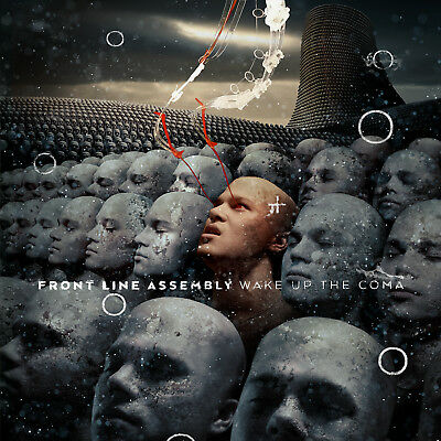 FRONT LINE ASSEMBLY New Sealed Ltd 2019 WAKE UP THE COMA 2 VINYL RECORD SET