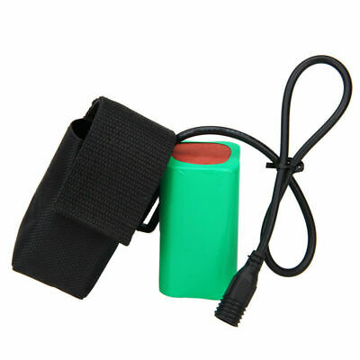 4v 8 Bicycle Pack 200001600012000mah Rechargeable Light For Torch Bike Battery dsQtCxhr