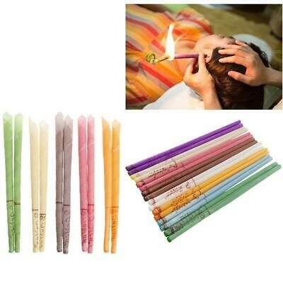 10x Ear Candling Natural Ear Wax Organic Beeswax Aromatherapy Wax Candles Care