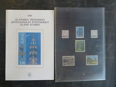 1985 Aland, Finland Stamp Year Pack
