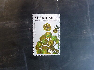 2013 Aland, Finland Flowers Anjelica Mint, Mint Stamp Mnh