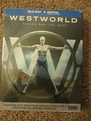 Westworld: The Complete First Season (Blu-ray Disc, 2017) New, but expired code