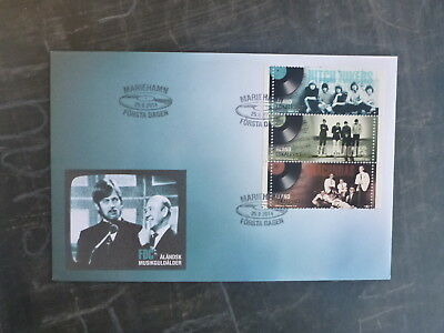 2014 Aland, Finland Aland Music Set 3 Stamps Fdc First Day Cover