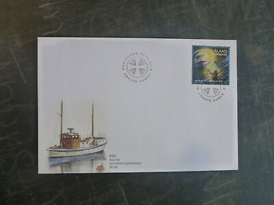 2015 Aland, Finland Sea Rescue Stamps Fdc First Day Cover