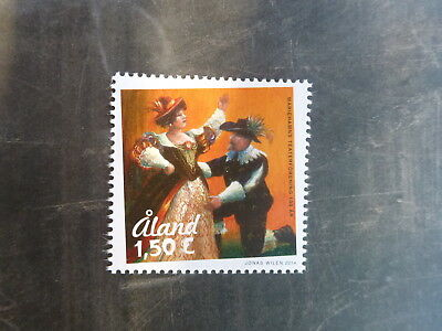 2014 ALAND, FINLAND 100th ANNIV THEATRE MINT STAMP MNH