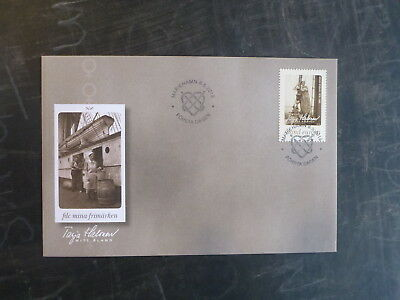 2015 Aland, Finland My Stamp Tarja Halones Stamp Fdc First Day Cover