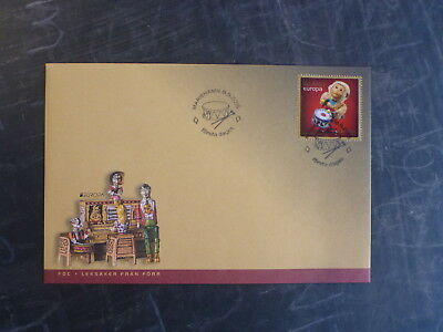 2015 Aland, Finland Toys Stamp Fdc First Day Cover