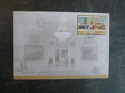 2015 Aland, Finland Sepac Midvinterblot Stamp Fdc First Day Cover