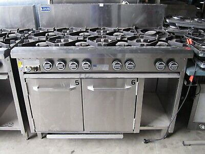 LUUS  8 Burner Gas Stove with Oven,  oven range