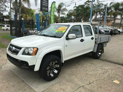 2009 Holden Colorado RC LX White Automatic A Utility