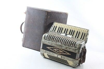 Old Accordion Accordion Accordion with Case Decor Old Vintage