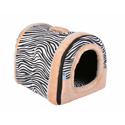 Pet Cat Dog House Kennel Puppy Cave Rest Sleeping Bed Soft Pad Cushion PS234