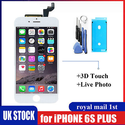 For iPhone 6s Plus LCD Touch Screen White Replacement With 3D Touch +Genuine IC