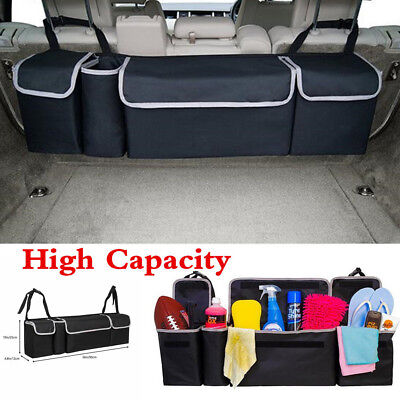 High Capacity Multi-use Car Seat Back Bag Organizer Storage Interior Accessories