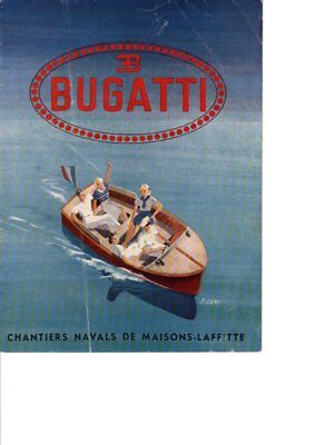 Catalogue Bugatti You-You A Moteur 1946
