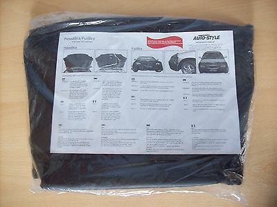 Carbon AUTOSTYLE 0633 CARBON Bonnet Stone Guard Cover