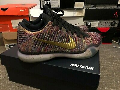d96be36eceaf NIKE KOBE X 10 Elite Low Prm Htm Us 11 10 45 Shark Jaw Black White ...